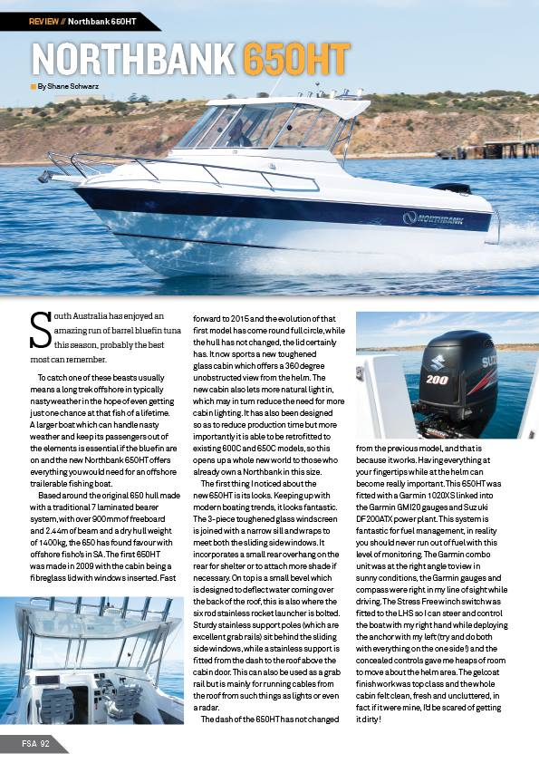 A review of the new 2016 Northbank 650HT